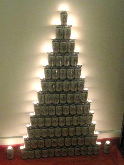Bier Weihnachtsbaum.Oh Tannenbaum Samundi